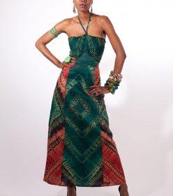 femme robe dinora bijoux Africouleur by Férouz