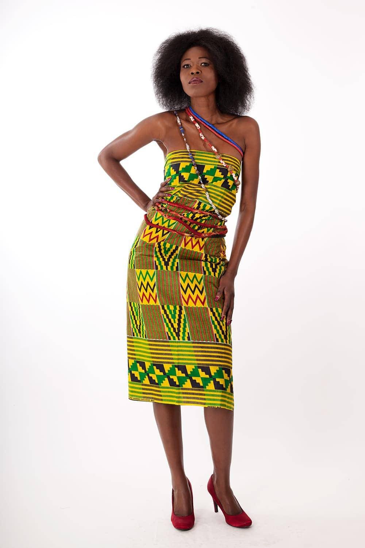 Foulard ou pagne en tissu africain wax - Africouleur