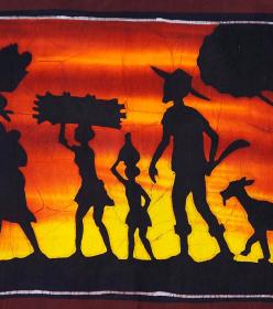 Batiks africains