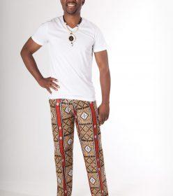 les pantalons africains pour hommes par f rouz allali. Black Bedroom Furniture Sets. Home Design Ideas