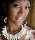 collier cauri 3 rangs Africouleur by Férouz