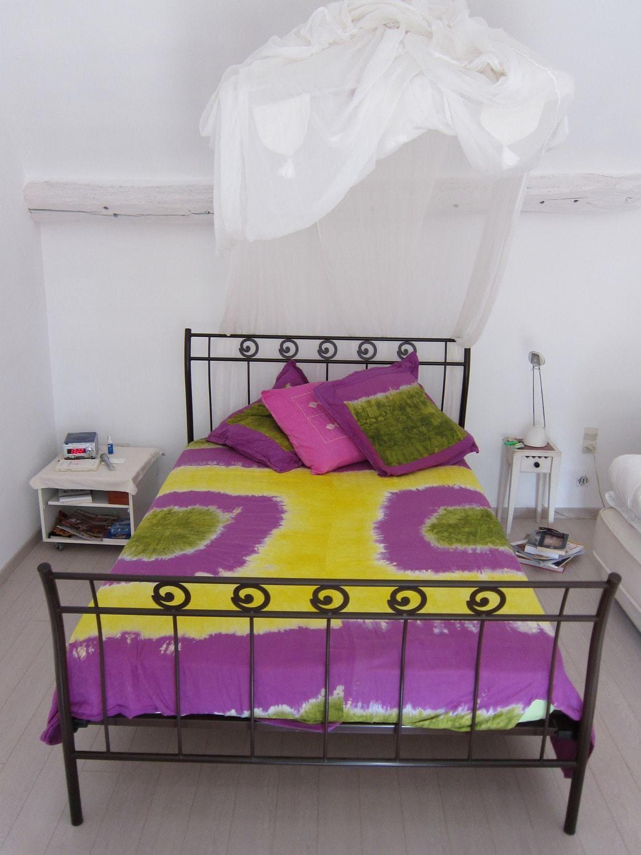 housse de couette en bazin africouleur. Black Bedroom Furniture Sets. Home Design Ideas