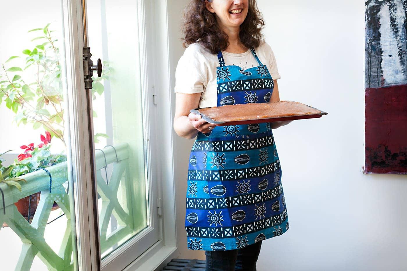 Tabliers de cuisine en tissu africain