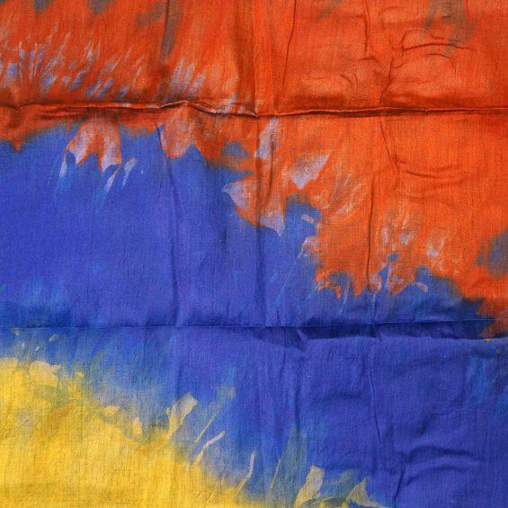 Bleu lapiz jaune orange - Tamberma