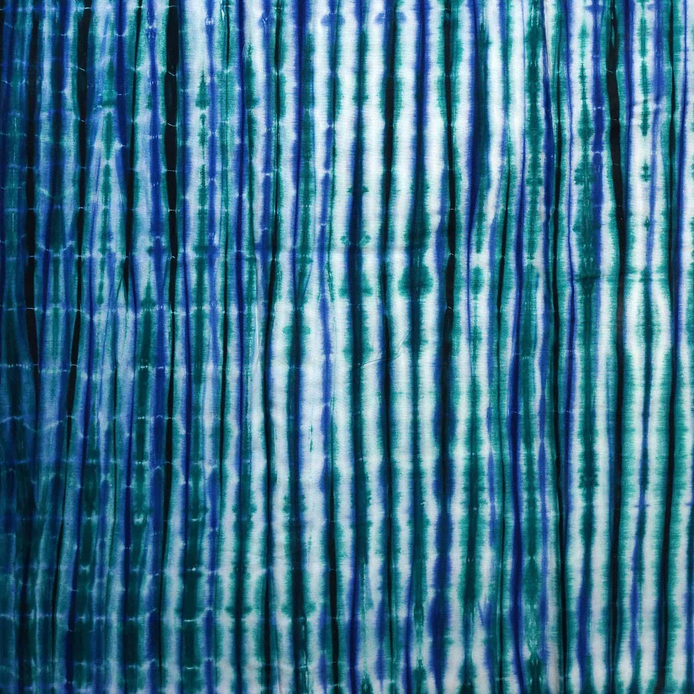 tissu africain calicot blanc bleu et vert motif toffe africouleur. Black Bedroom Furniture Sets. Home Design Ideas