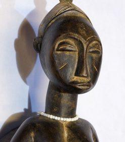 Masque africain Baoulé de Côte d'Ivoire - Africouleur