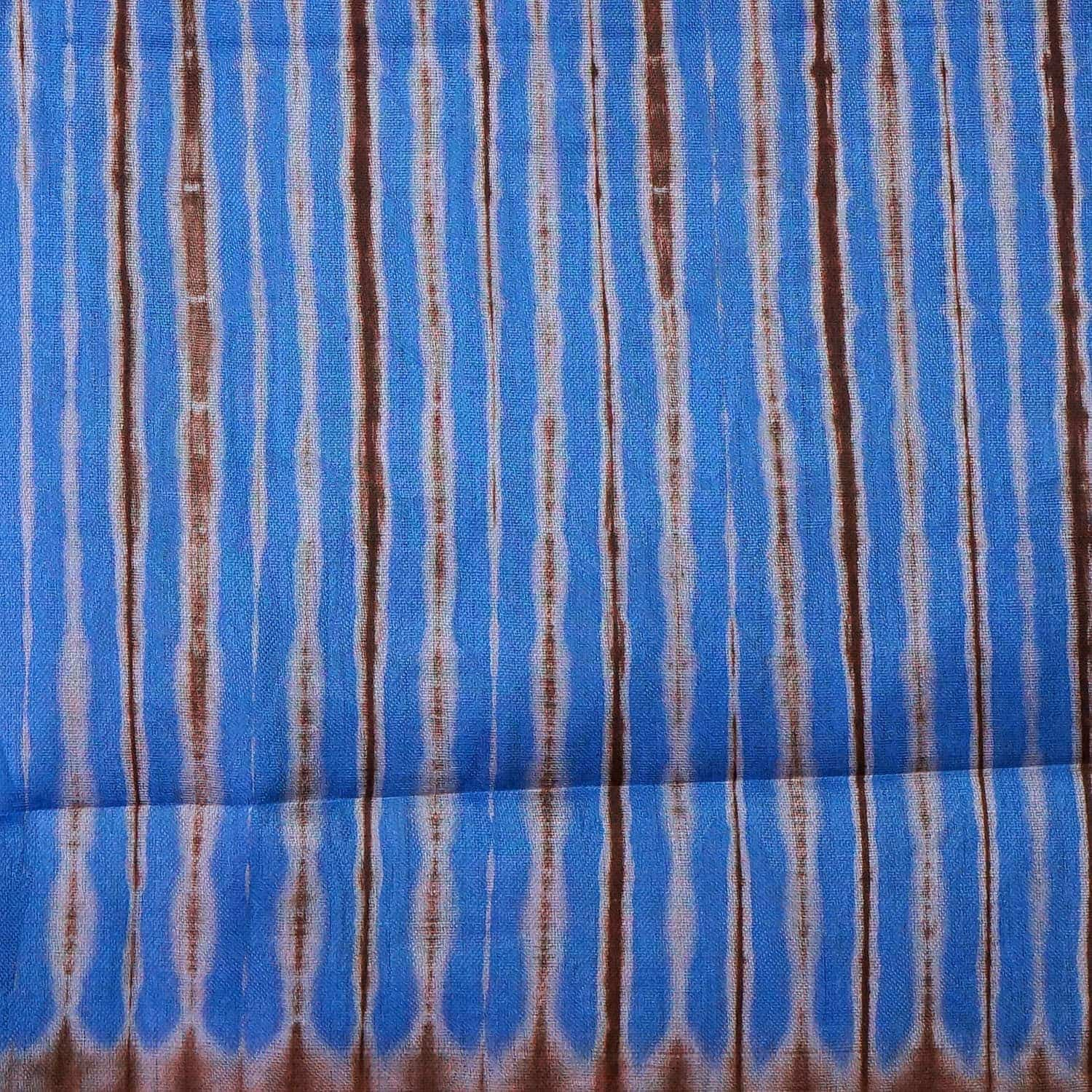tissu africain en bazin bleu gris et brun motif toffe africouleur. Black Bedroom Furniture Sets. Home Design Ideas
