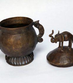 Boite africaine en bronze du ghana africouleur for Boite africaine paris