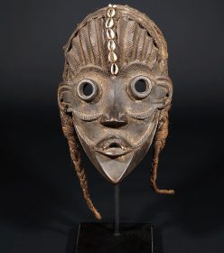Masque africain Dan du Libéria