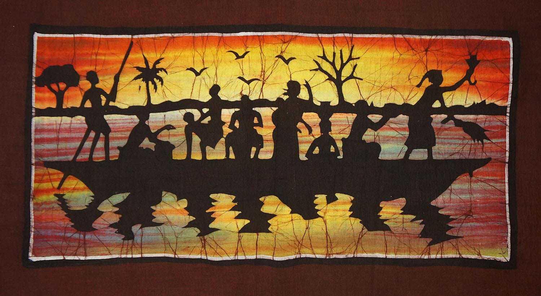 batik africain c r monie sur le lac africouleur. Black Bedroom Furniture Sets. Home Design Ideas