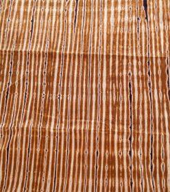 bazin marron brun ivoire AfrIcouleur