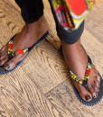 tongs Africouleur