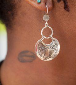 boucles d'oreilles touareg Africouleur