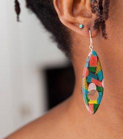 boucles d'oreilles Kossiwa Africouleur