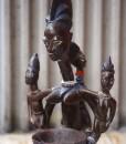 Statue africaine Yoruba Adjéré du Nigéria - Africouleur