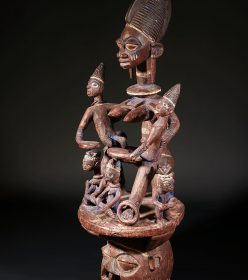 Cimier Yoruba Adjéré du Nigéria