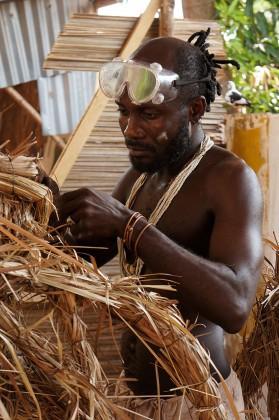 Aké O'Lokan artiste africain et prêtre vaudou