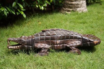 Jeu d'Awalé crocodile