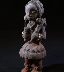 Fétiche vaudou Fon Béhanzin d'Abomey