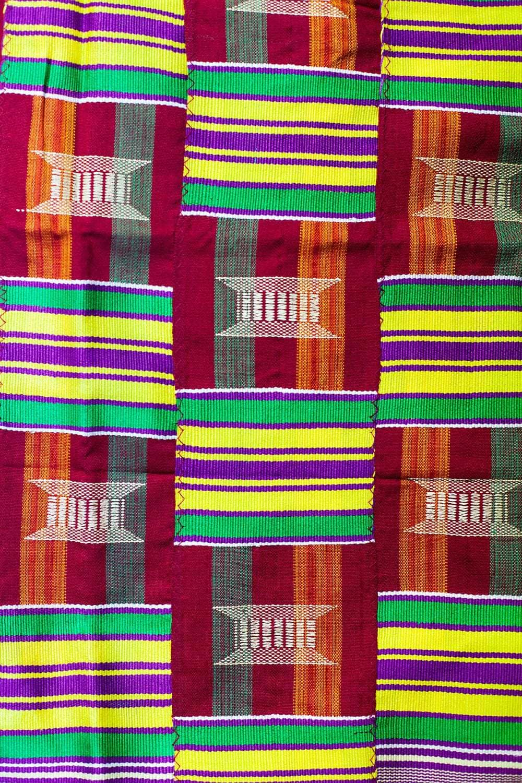 tissu africain kente
