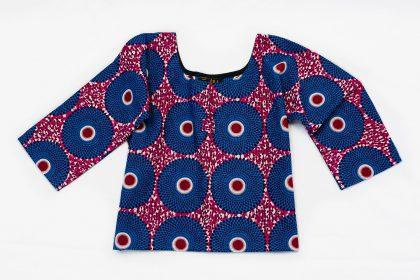 chemise enfant mixte wax