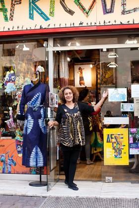 Africouleur, boutique de mode africaine à Paris