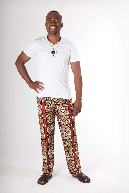 pantalon africain homme en wax africouleur. Black Bedroom Furniture Sets. Home Design Ideas