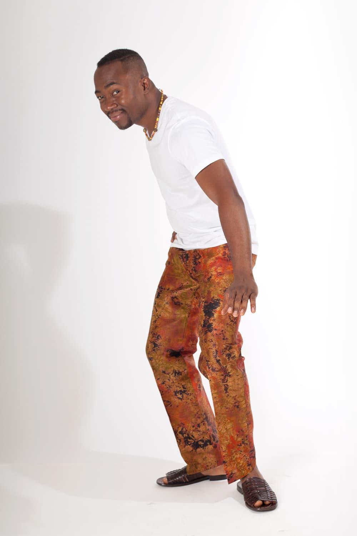 Pantalon africain homme en bazin - Africouleur
