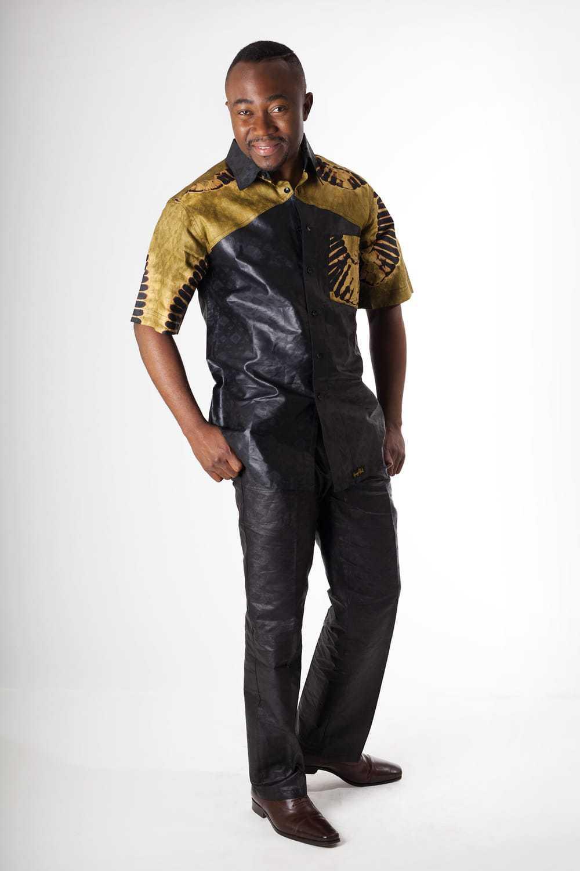 Chemise Africaine Homme En Bazin Africouleur