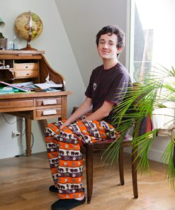 pantalon africain ou pyjama homme wax