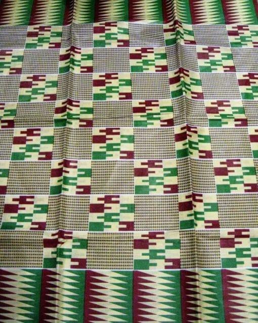 Wax style kente