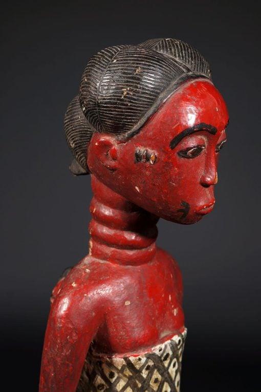 Colon Maternité Baoulé rouge