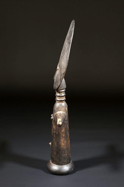 Grande poupée de fécondité Akuaba Ashanti