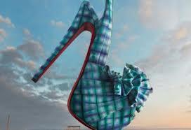bcee6e4be5dc Fashion shoes en bazin Africouleur by Christian Louboutin - Africouleur