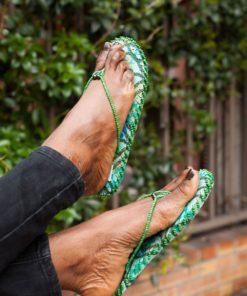 Tongs Colorées Sandales Et Africaines De Perles Décorées OkXn8P0w