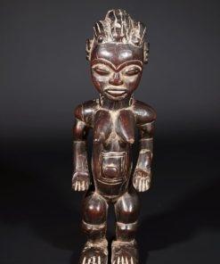Statue africaine Baoulé de Côte-d'Ivoire