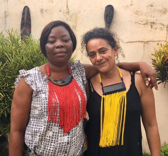 33145bc75534 Bobazin rencontre Férouz ALLALI, Styliste et Créatrice d Africouleur ...