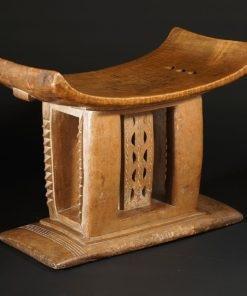 Tabouret Ashanti du Ghana