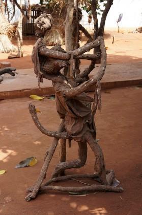 Les sculptures d'Aké O'Lokan