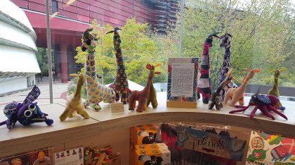 Les petits animaux africains de Africouleur aux boutiques du Quai de Branly