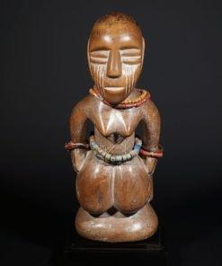 Statuette africaine d'ancêtre Bariba du Bénin