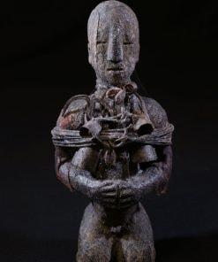 Fétiche vaudou Ewé avec cloches