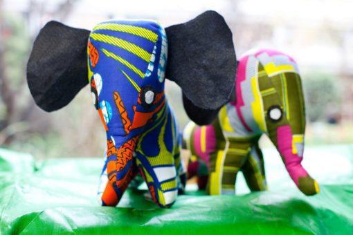 Animaux tissu éléphant