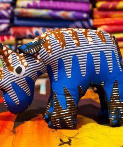 Animaux tissus rhinocéros