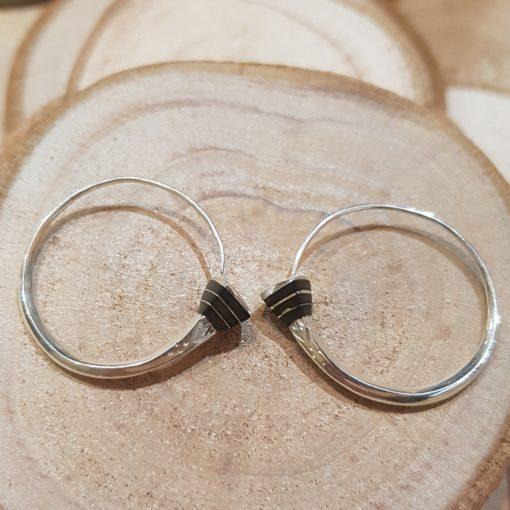 Bijoux boucles d'oreilles touareg