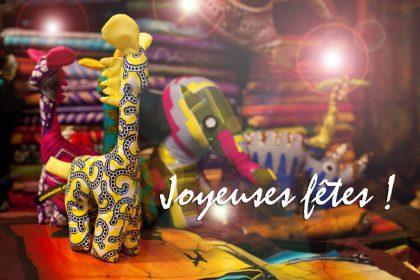 Joyeuses Fêtes avec Africouleur