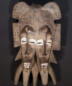 Masque africain Sénoufo Kpélié