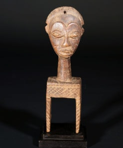 Poulie de métier à tisser de Côte d'Ivoire