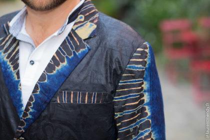 Costume africain homme bazin