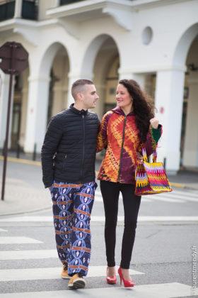 Mode africaine en couple
